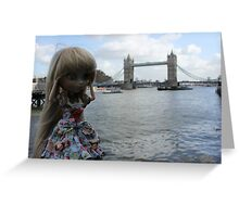 London Brigde  Greeting Card