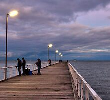 Morning on the Pier by Mark Cooper