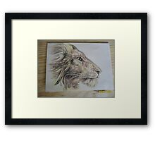 King Framed Print
