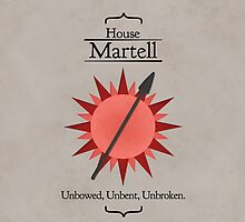 House Martell (With Text) by Jack Howse