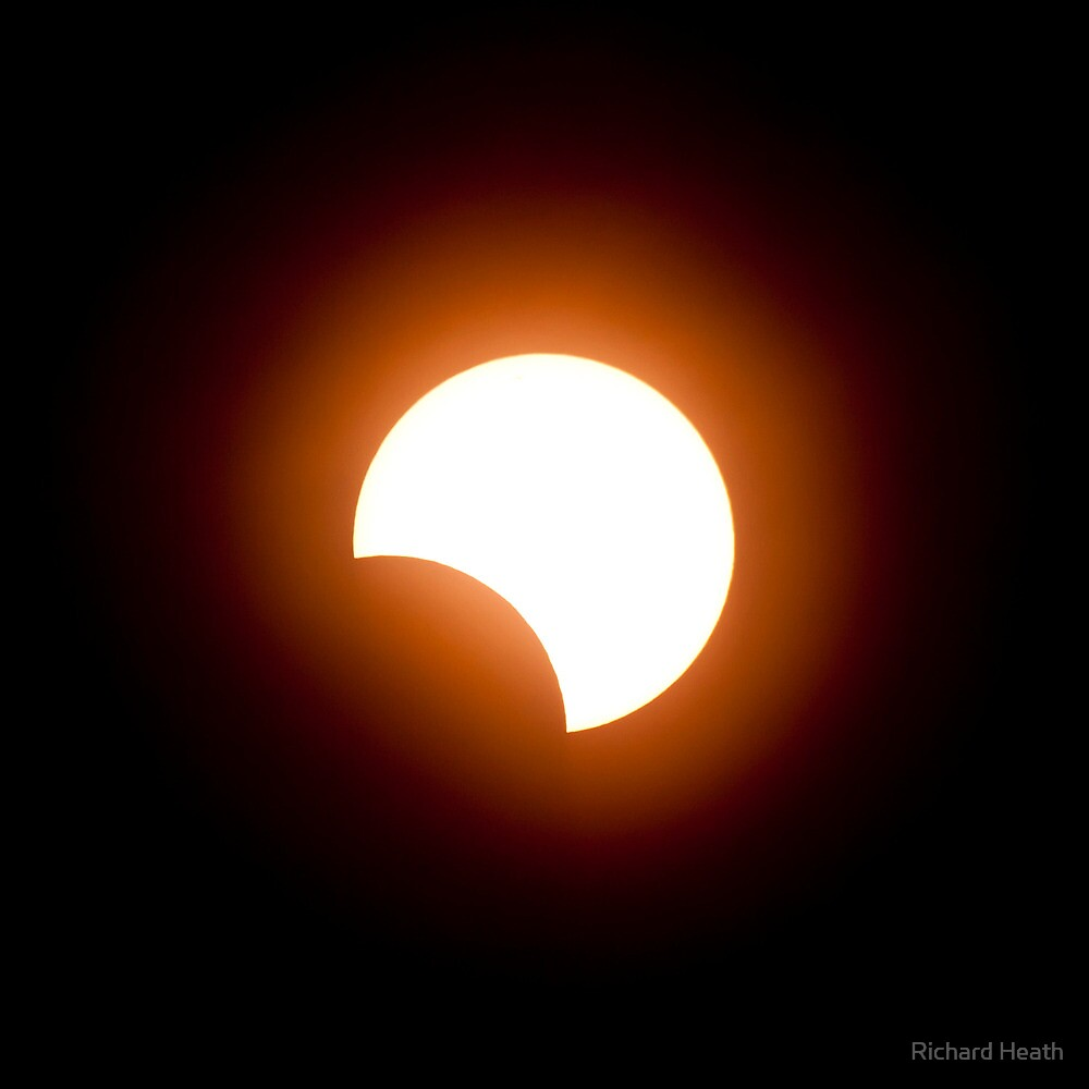 Partial Solar Eclipse -  May 10, 2013 by Richard Heath