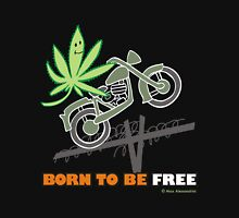 BORN TO BE FREE Unisex T-Shirt