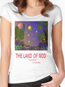Land of NOD (environment 2) Women's Fitted Scoop T-Shirt