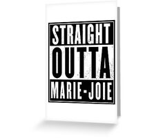 One Piece - Marie-Joie Greeting Card