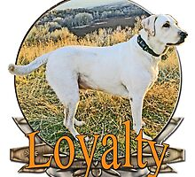 White lab loyalty  by saltypro