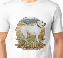 White lab loyalty  Unisex T-Shirt