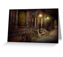 Bike - NY - Greenwich Village - In the village  Greeting Card