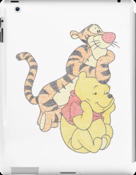 Tigger and Pooh by Heather Saldana