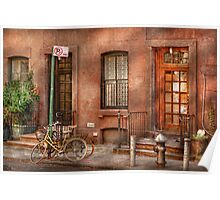 Bike - NY - Urban - Two complete bikes Poster