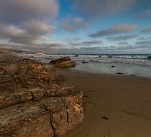 Rocks, Crystal Cove...  by Richard Thelen