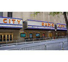Radio City Music Hall Photographic Print