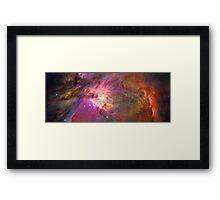 Secrets Of Orion Framed Print