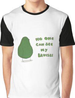 Sad Avocado Graphic T-Shirt