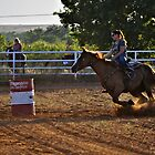 Barrel Racing by Kristen O'Brian