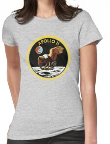 apollo 11 Womens Fitted T-Shirt