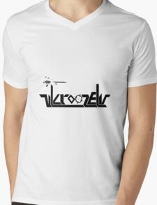 Crooze Mens V-Neck T-Shirt
