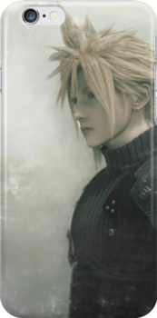 Cloud 2 Final Fantasy iPhone Case by squidkid