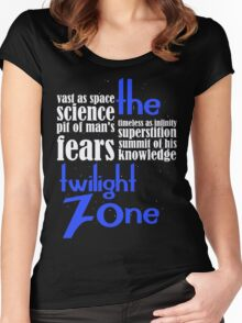 Beyond that which is known to man Women's Fitted Scoop T-Shirt