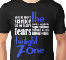 Beyond that which is known to man Unisex T-Shirt