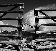 Locked Up in Nowhere Landscape by Amyn Nasser