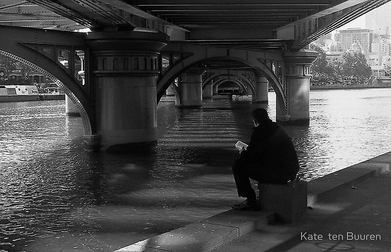 down by the river... by Kate ten Buuren by Shot in the Heart of Melbourne, 2013