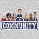 Community Street by rexraygun