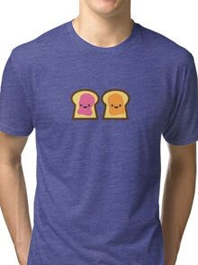Peanut Butter Jelly Time Tri-blend T-Shirt