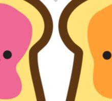 Peanut Butter Jelly Time Sticker