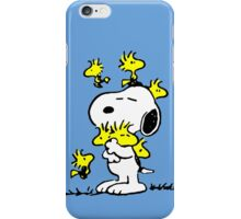 Woodstock loves Snoopy iPhone Case/Skin