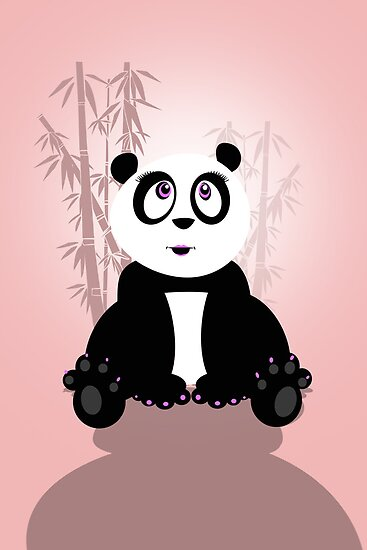 Panda Girl by Adamzworld