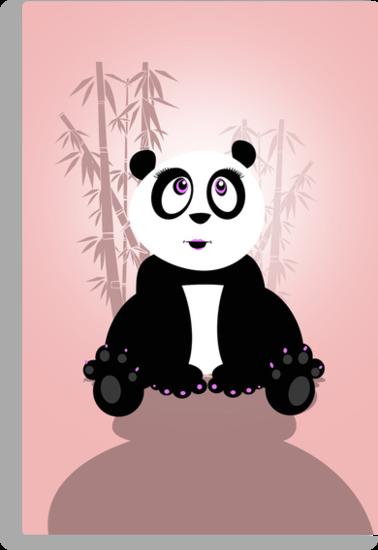 Panda Girl by Adamzworld