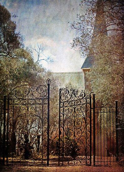 ~ The Old Church Gates ~ by Lynda Heins