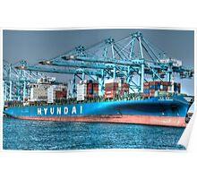 Hyundai Shipping Poster
