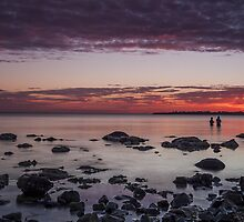 Two Friends Reflecting by Shari Mattox-Sherriff