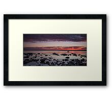 Two Friends Reflecting Framed Print