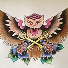 Key Owl by iamnathan