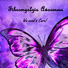 Fibromyalgia Butterfly by Tori Snow