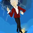 3rd Doctor in the Time Vortex by Kileigh Gallagher