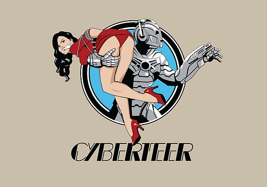 Cyberteer Print by Crocktees