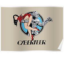 Cyberteer Print Poster