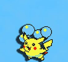 Balloon Pikachu by Akoimi