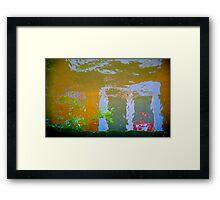 utrecht pareidolia 1 Framed Print