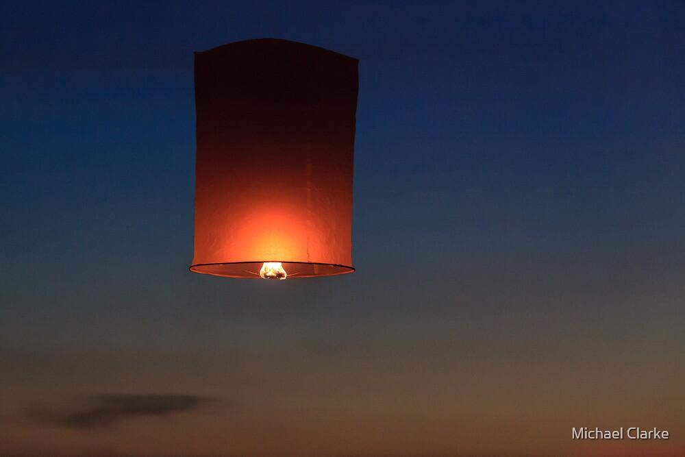 Paper Lantern by Michael Clarke