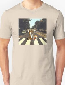 Calvin & Hobbes Meet the Beatles T-Shirt
