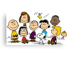 All Peanuts Together Canvas Print