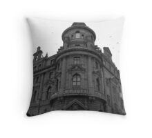 Old architecture Throw Pillow