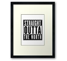 Game of thrones - The North Framed Print