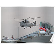 Merlin helicopter Poster