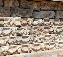 Elevated Subjects of the Portico of Tiberius Friezes by taiche