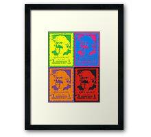 Pop Marx Framed Print